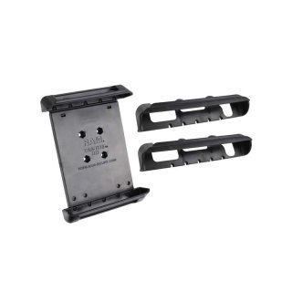 RAM Mounts Universal Tab-Tite Halteschale mit verschiedenen Endkappen (John Deere) - AMPS-Aufnahme, Schrauben-Set, im Polybeutel