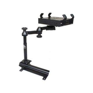 RAM Mounts Laptop-Halterung für Fahrzeuge - Fahrzeug-Basis, Doppel-Schwenkarm, Tough-Tray Halteschale, Jeep Wrangler