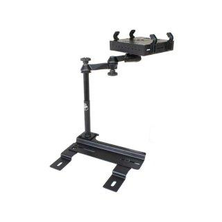 RAM Mounts Laptop-Halterung für Fahrzeuge - Fahrzeug-Basis, Doppel-Schwenkarm, Tough-Tray Halteschale, Chrysler PT Cruiser