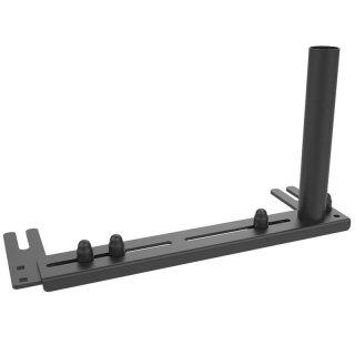 RAM Mounts Universal Fahrzeug-Basis für Laptop-Halterungen inkl. Tele Pole Aufnahme