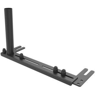 RAM Mounts Universal Fahrzeug-Basis für Laptop-Halterungen inkl. Tele Pole Aufnahme - Revers-Modell